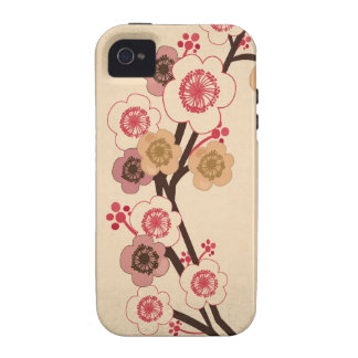 Vintage cherry blossom tree Case-Mate Case iPhone 4/4S Cover