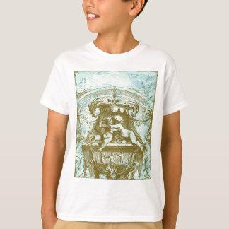 Vintage Cherub Fountain Save the Date Design Tee Shirts