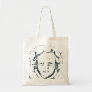 Vintage Cherub Tote Budget Tote Bag