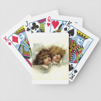 Vintage Cherubs Poker Deck