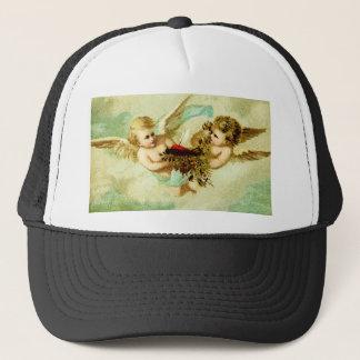 VINTAGE CHERUBS TRUCKER HAT