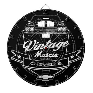 Vintage Chevelle Dartboard