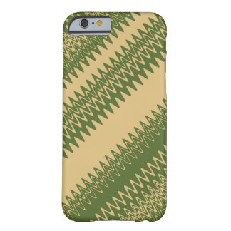 Vintage Chevron Striped Pattern Barely There iPhone 6 Case