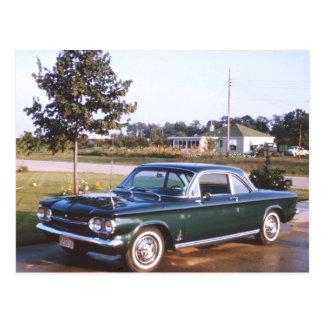 Vintage Chevy Spyder Postcard
