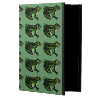 Vintage Chic Kitsch Frog Pattern iPad Air Cases