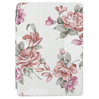 Vintage Chic  Shabby Girly Flowers iPad Air Cover