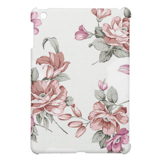Vintage Chic  Shabby Girly Flowers iPad Mini Covers