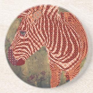 Vintage Chic Zebra Coaster