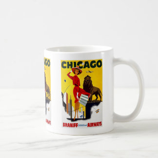 Vintage Chicago Advertisement Mugs