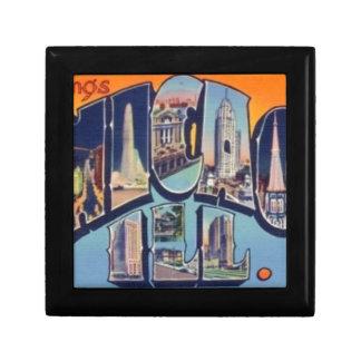 Vintage Chicago City Gift Box