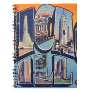 Vintage Chicago City Notebooks