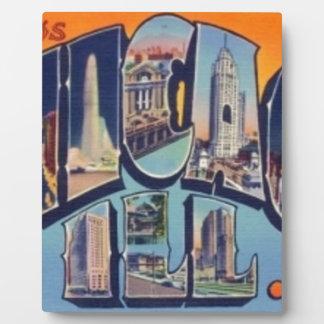 Vintage Chicago City Plaque