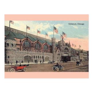 Vintage Chicago Coliseum Postcard