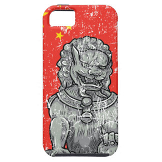 vintage china chines statue iPhone 5 cover