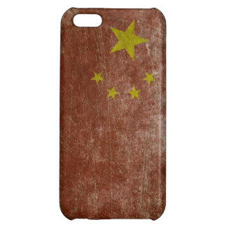 Vintage China Flag Cover For iPhone 5C