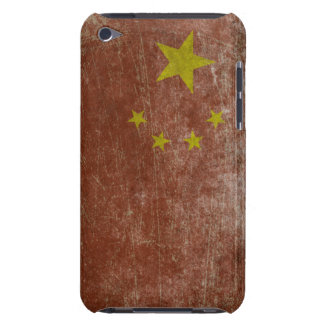 Vintage China Flag iPod Touch Case-Mate Case
