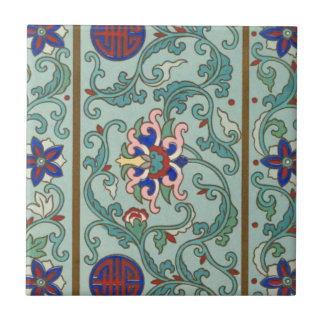 Vintage Chinese Art Tile