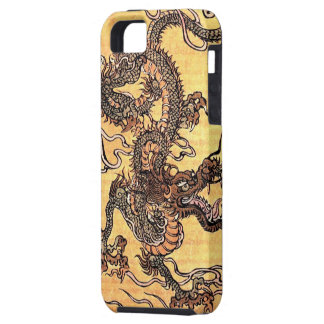 Vintage Chinese Dragon iPhone 5 Case