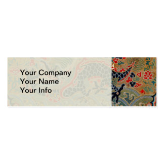 Vintage Chinese Dragon Symbol of Strength Pack Of Skinny Business Cards