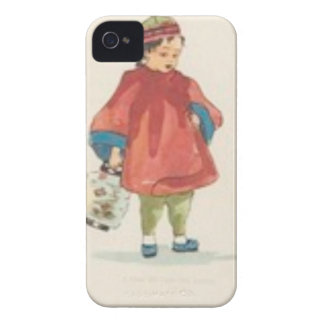 Vintage Chinese Illustration Case-Mate iPhone 4 Cases