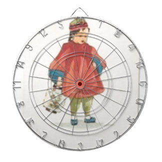 Vintage Chinese Illustration Dartboard