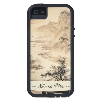 Vintage Chinese Sumi-e painting landscape scenery iPhone 5 Case
