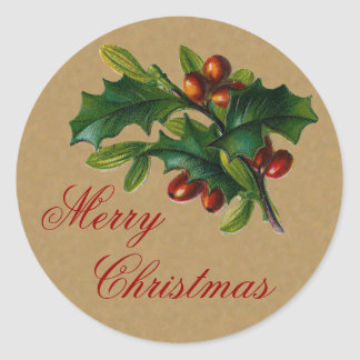 Vintage Chistmas sticker