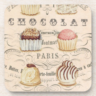Vintage Chocolat...cork coaster