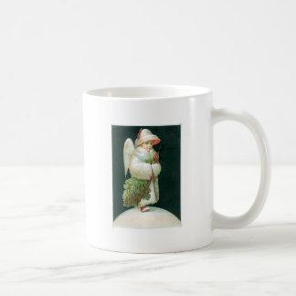 Vintage Christmas Angel Girl Coffee Mug