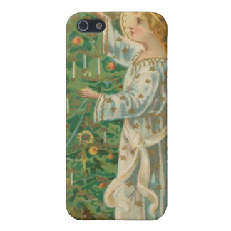 Vintage Christmas Angel iPhone 5 Covers