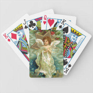 Vintage Christmas Angel Playing Cards
