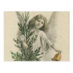 Vintage Christmas Angel Postcard