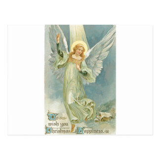 Vintage Christmas Angel Postcard