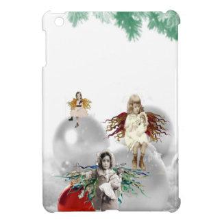 vintage christmas angels iPad mini cases