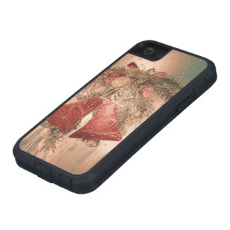 Vintage Christmas Bells iPhone 5 Cover