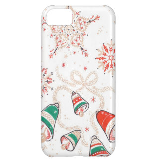 Vintage Christmas Bells Cover For iPhone 5C