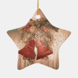 Vintage Christmas Bells Ornaments