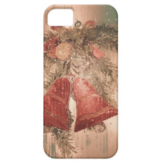 Vintage Christmas Bells iPhone 5/5S Case