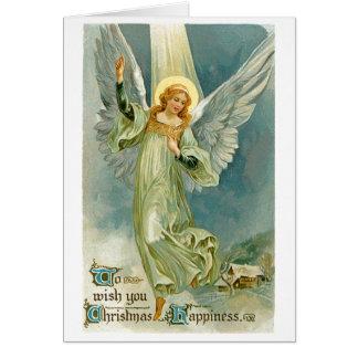 Vintage Christmas Card #3