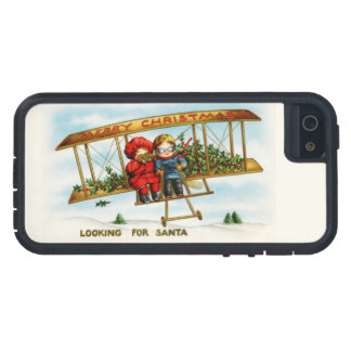 Vintage Christmas Children Looking For Santa Case For iPhone 5