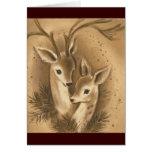 Vintage Christmas Deer