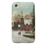 Vintage Christmas Eve 2 iPhone 3 Case-Mate Cases