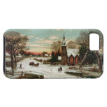 Vintage Christmas Eve 2 iPhone 5 Cases