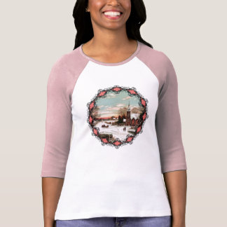 Vintage Christmas Eve Womens Shirt