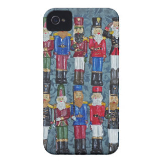 Vintage Christmas Figures, old soldiers iPhone 4 Case