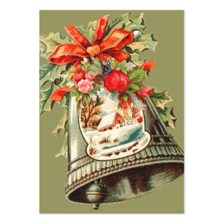Vintage Christmas Gift Tags Pack Of Chubby Business Cards
