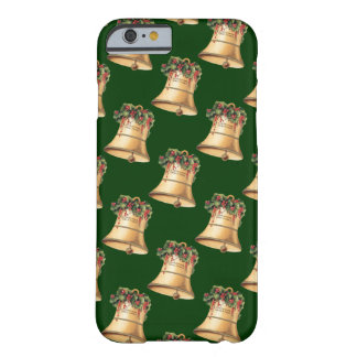Vintage Christmas Golden Bells, Season's Greetings Barely There iPhone 6 Case
