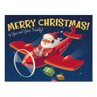 Vintage Christmas Greeting Card Postcard
