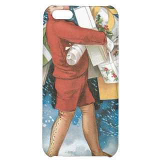 Vintage Christmas Greeting iPhone 5C Case