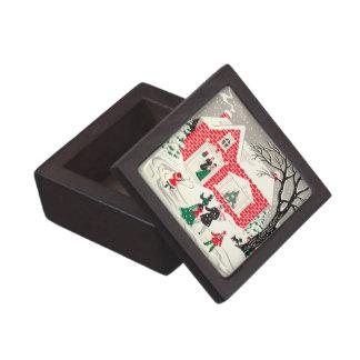 Vintage Christmas Greetings Premium Gift Box